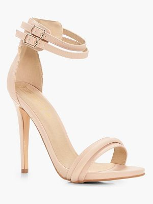BOOHOO Darcy Double Ankle Band 2 Part Heel