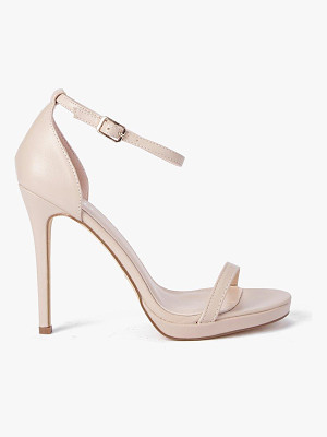 Boohoo Single Platform Two Part Heels