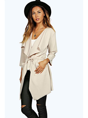 BOOHOO Eloise Belted Duster