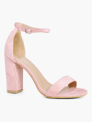 BOOHOO Emily 2 Part Block Heels
