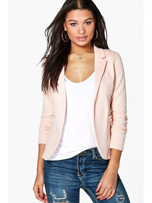 BOOHOO Faith Pocket Ponte Blazer