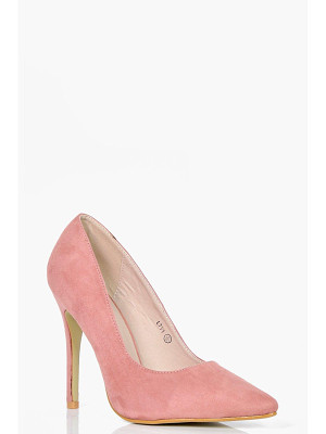 BOOHOO Freya Pointed Toe Court Heels