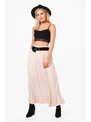 Boohoo Georgia Maxi Skirt