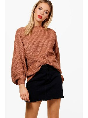 Boohoo Grace Cable Knit Jumper