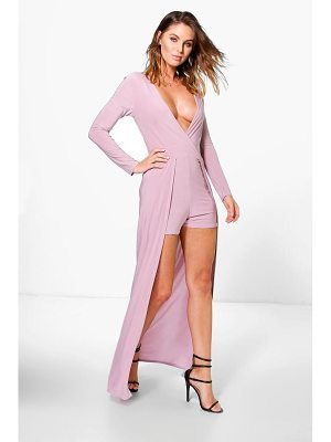 BOOHOO Grace Maxi Style Skinny Playsuit