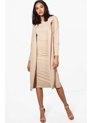 BOOHOO Hollie Longline Duster