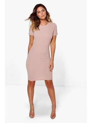 BOOHOO Holly Fitted Tailored Dress