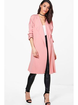 BOOHOO Holly Waterfall Duster Jacket