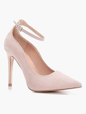 BOOHOO Jade Pointed Toe Ankle Band Court