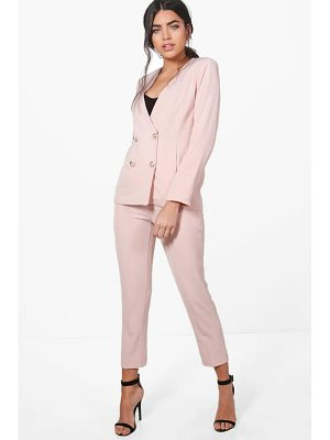 BOOHOO Jennifer Woven Tailored Trouser