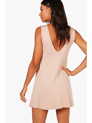 Boohoo V Back Swing Dress