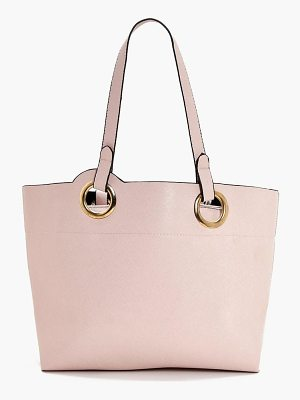 BOOHOO Jess Ring Handle Detail Day Bag