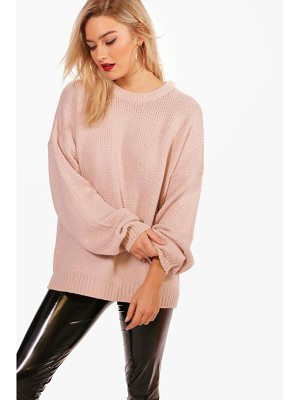 BOOHOO Joanna Oversized Drop Shoulder Jumper