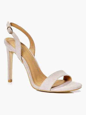 BOOHOO Kara Slingback Two Part Sandal