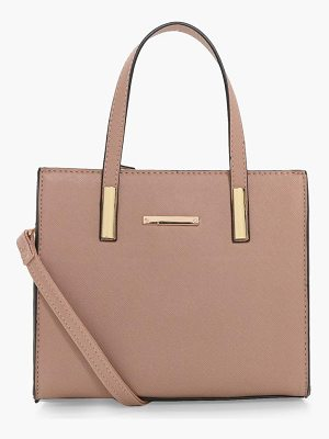 Boohoo Mini Tote Cross Body