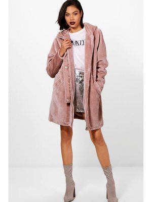 Boohoo Kelly Faux Fur Parka