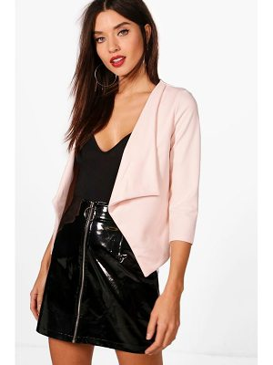 Boohoo Kerry Shawl Collar Blazer
