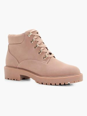 Boohoo Low Ankle Chunky Hiker Boot