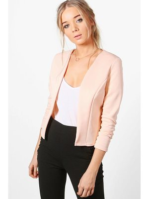 BOOHOO Lucy Crop Fitted Blazer