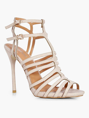 BOOHOO Lucy Strappy Heel