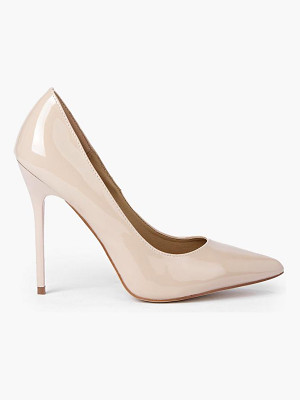 Boohoo Patent Court Shoes