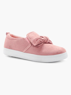 BOOHOO Maya Bow Trim Skaters