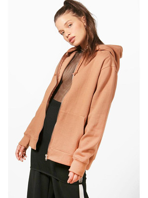 BOOHOO Maya Zip Through Hoody