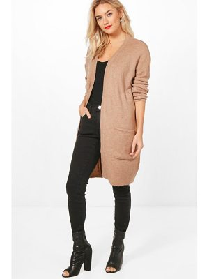 BOOHOO Olivia Edge To Edge Cardigan