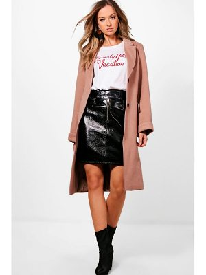 Boohoo Rosie Oversized Coat