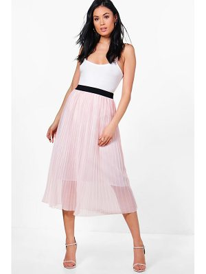 BOOHOO Sofia Boutique Tulle Full Midi Skirt