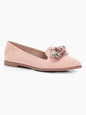 BOOHOO Wendy Embellished Slipper Ballet