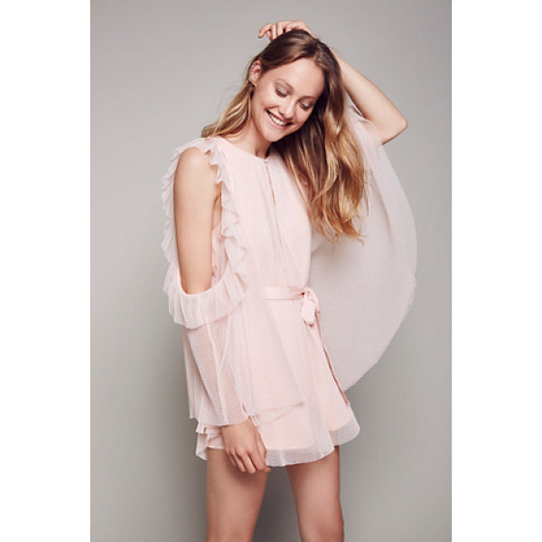 ALICE MCCALL Good times playsuit - Super fun and femme playsuit featuring cute ruffled details...