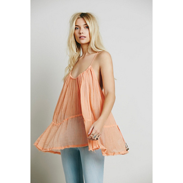ENDLESS SUMMER Pretty sweet tunic - Made from our sheer and gauzy Endless Summer fabric this...