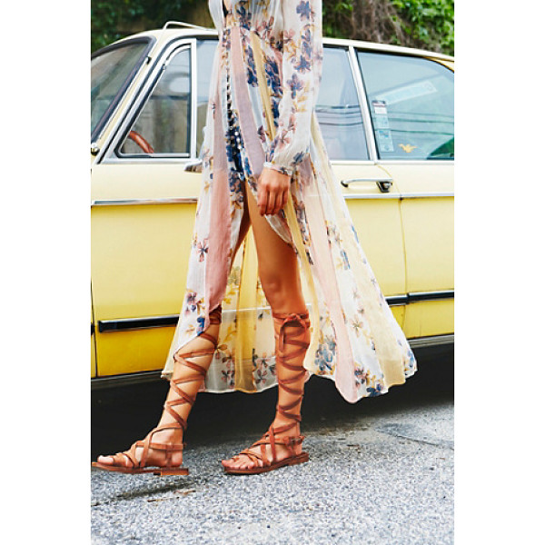FARYL ROBIN + FREE PEOPLE Santa fe gladiator sandal - Make a statement in these strappy gladiator sandals...