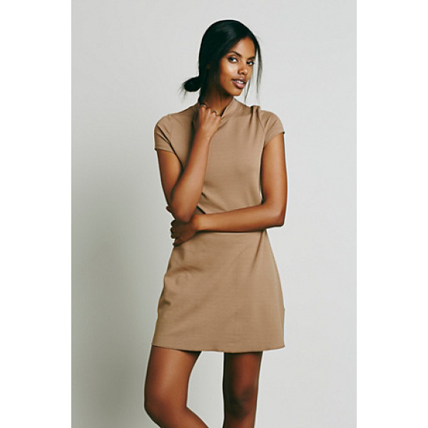 FP BEACH Solid mock neck mini dress - We designed another version  of FP fave On the Line Ponte...