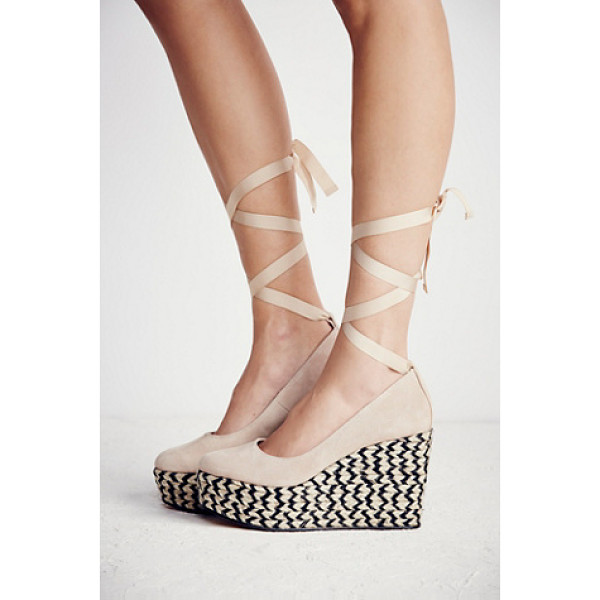 FP COLLECTION Charade espadrille wedge - Made from the finest Spanish craftsmanship these round toe...