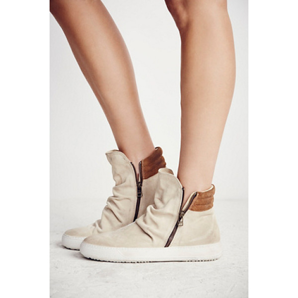 FP COLLECTION Whistler hi top sneaker - Made from the finest Italian craftsmanship these suede high...