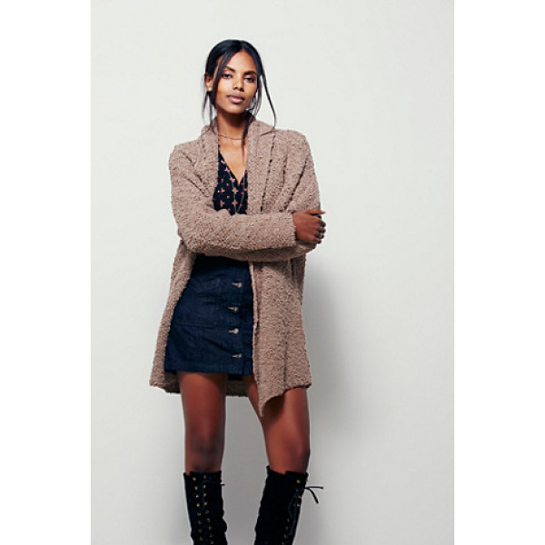 FREE PEOPLE Dreamy day cardi - So soft cardigan with an oversized slouchy silhouette....