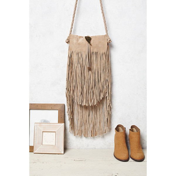 FREE PEOPLE Fountain hill crossbody - Suede crossbody featuring dramatic fringe detailing. ...