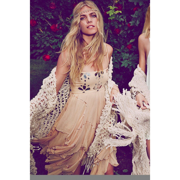 FREE PEOPLE Fp-1 jasmine dress - Princess party dress featuring mirrored accents on the bust...