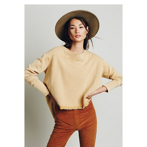 FREE PEOPLE In the yard pullover - Super soft and comfy pullover featuring a high low hem and...