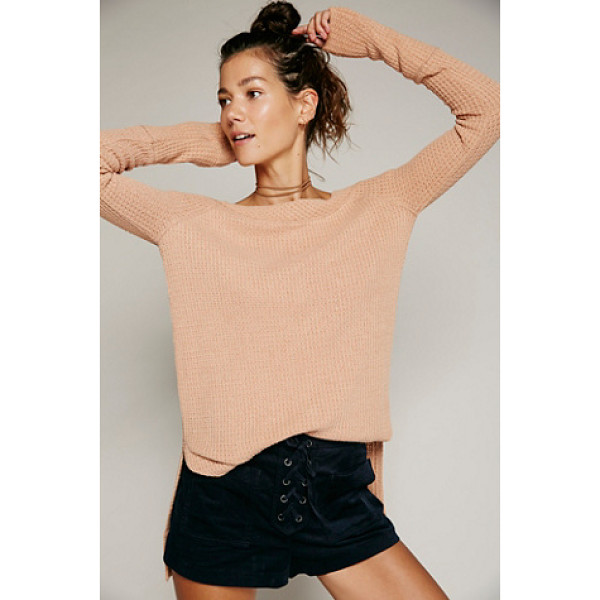 FREE PEOPLE Kate thermal - Super cozy long sleeve thermal featuring a sultry...