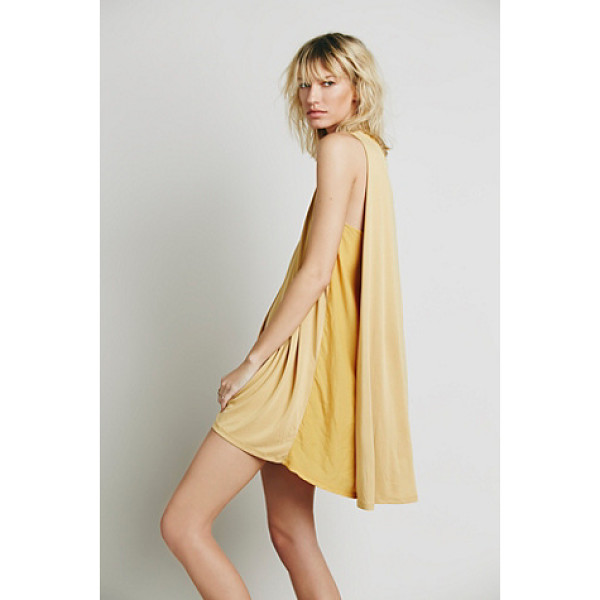 FREE PEOPLE My girl dress - Super shapeless sleeveless tent dress featuring pleat...