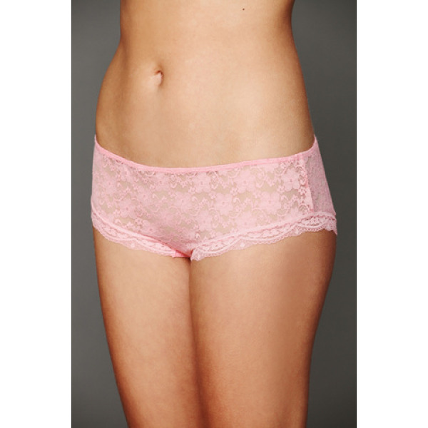 INTIMATELY FREE PEOPLE Lacey basic undie - Sheer lace hipster undies with scalloped lace trim....