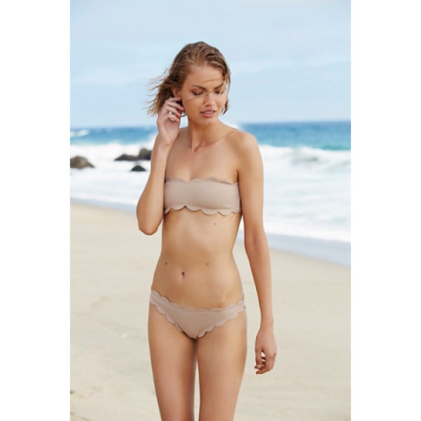 MARYSIA SWIM Antibes bottom - In a textured fabric these mid-rise bikini bottoms...