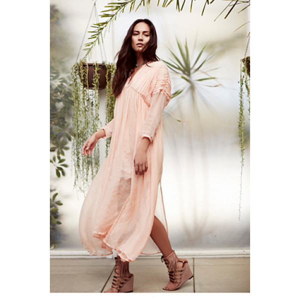 NEW ROMANTICS None - Effortlessly ethereal midi dress featuring ruched detailing...