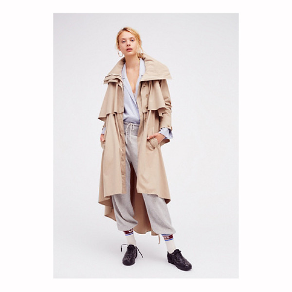NICHOLAS K Farley trench - Long sleeve trench coat with an ultra modern feel. Features...