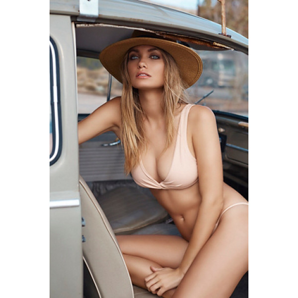 SALT Kate top - Made in California this pullover style bikini top features...