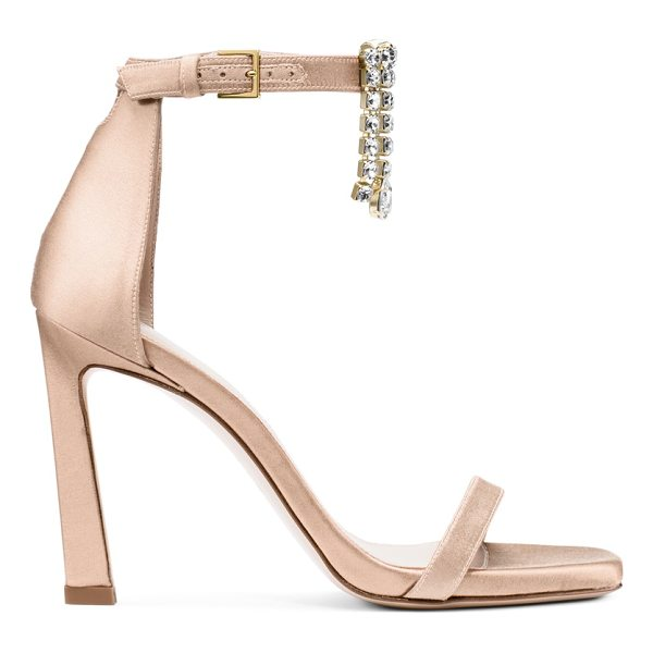 STUART WEITZMAN 100Fringesquarenudist - The iconic strappy sandals get a sculptural update with a...