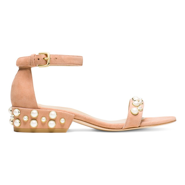 STUART WEITZMAN Allpearls - All about embellishments? Then you'll be all about the